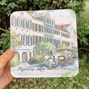 Rainbow Row Charleston Tin